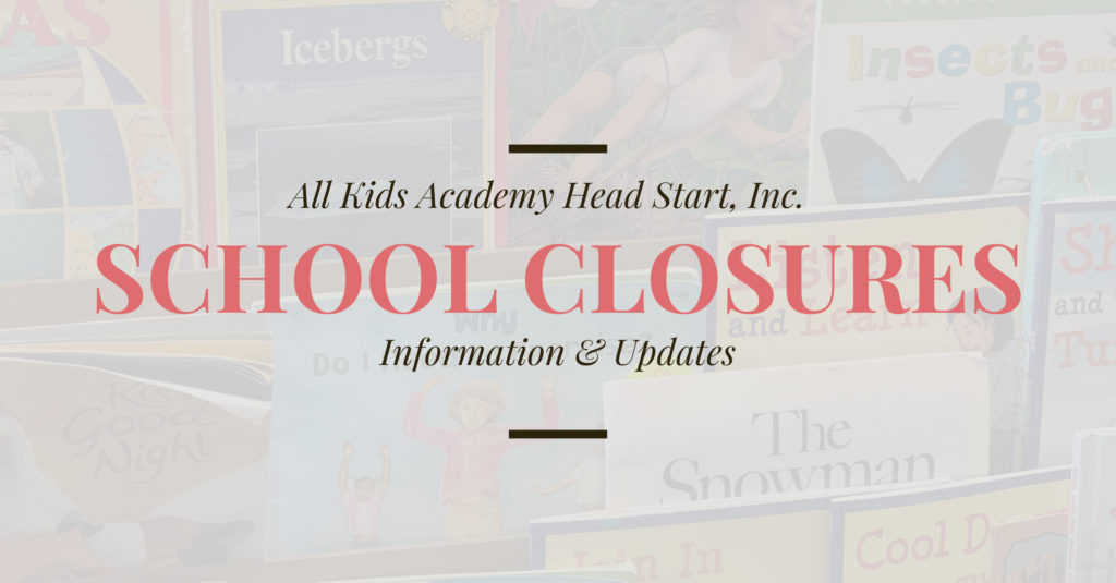 School Closure Information W2600
