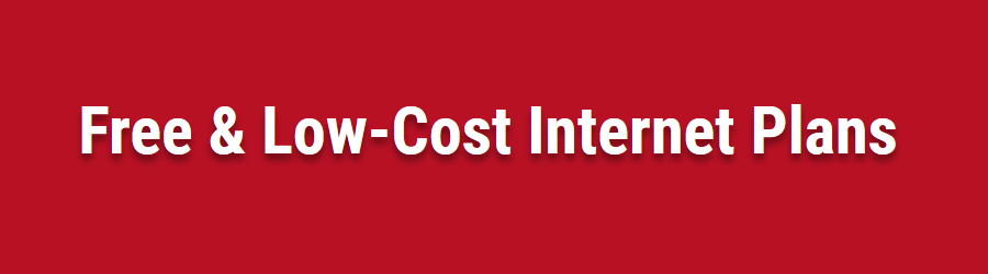 Free Low Cost Internet Plans